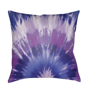 Textures Bright Purple and Violet 22 x 22-Inch Pillow