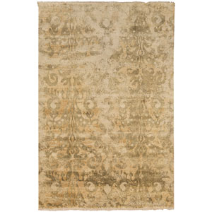 Uncharted Olive and Gold Rectangular: 2 Ft x 3 Ft Rug