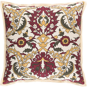 Vincent Multicolor 18-Inch Pillow with Poly Fill