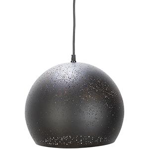 Vandyke Black 12-Inch One-Light Pendant