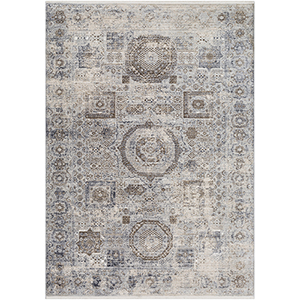 Liverpool Grey Rectangular: 5 Ft. x 7 Ft. 10 In. Rug