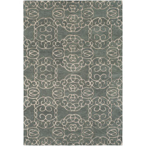 Vernier Sage and Khaki Rectangular: 8 Ft. x 10 Ft. Rug