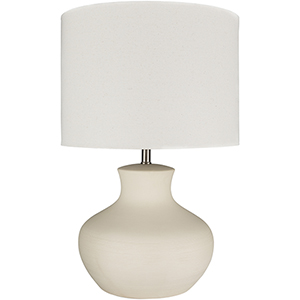 Warren Cream One-Light Table Lamp