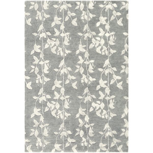 Rizzy Rugs Craft Rectangle 5 Ft X 8 Ft Light Blue Rug