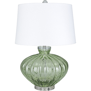 Willoughby Emerald One-Light Table Lamp