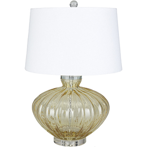 Willoughby Bright Yellow One-Light Table Lamp