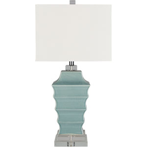Whitechapel Blue Table Lamp