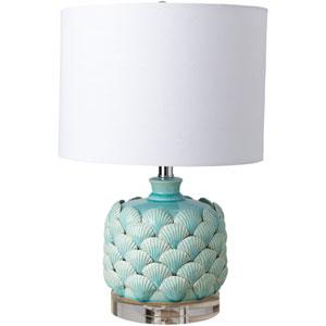 Wilkins Blue Table Lamp