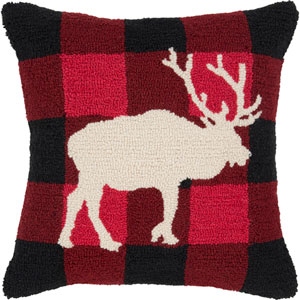 Winter Multicolor 18 x 18-Inch Throw Pillow