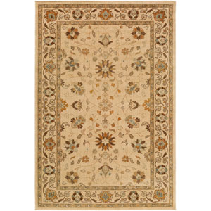 Willow Lodge Neutral and Brown Rectangular: 1 Ft. 10-Inch x 2 Ft. 11-Inch Rug