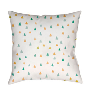 Funfetti Multicolor 18 x 18-Inch Throw Pillow