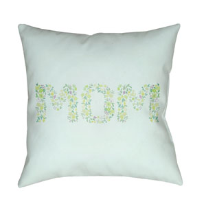 Mom Multicolor 20 x 20-Inch Throw Pillow