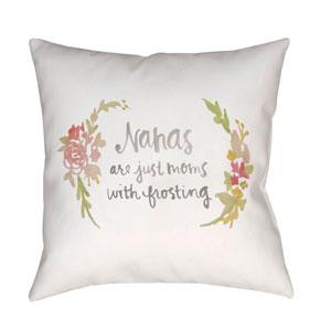 Nana Multicolor 18 x 18-Inch Throw Pillow