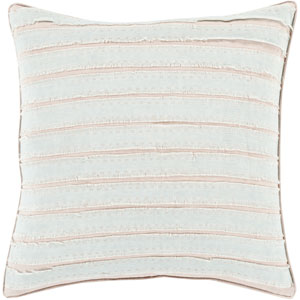 Willow Gray and Neutral 22-Inch Pillow Cover