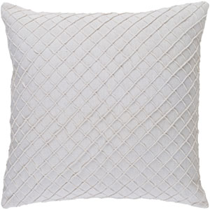 Wright Ivory 20-Inch Pillow with Down Fill