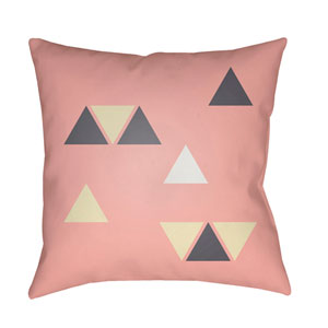 Triangles Multicolor 18 x 18-Inch Throw Pillow