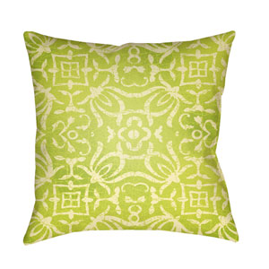 Yindi Bright Yellow and Butter 18 x 18-Inch Pillow