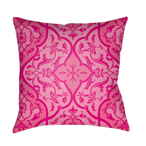 Yindi Bright Pink 18 x 18-Inch Pillow