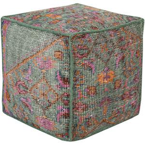 Zahara Multicolor Pouf