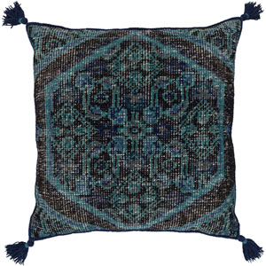 Zahra Blue 30-Inch Pillow Cover