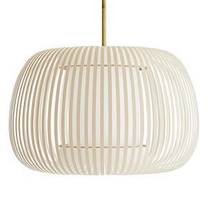 Mia Brown One-Light Pendant