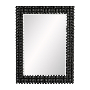 Paxton Black Stained Wall Mirror
