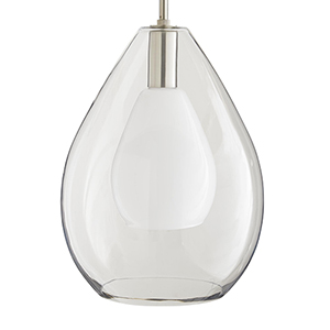 Nala Clear One-Light Pendant