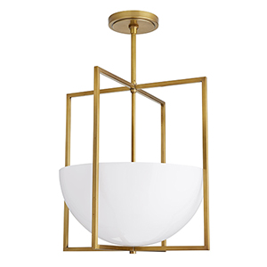 Royce Gold Two-Light Pendant
