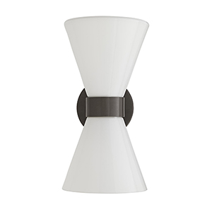 Richard Gray Two-Light Outdoor Wall Sconce