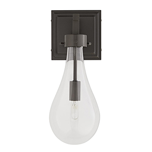 Sabine Gray One-Light Outdoor Wall Sconce