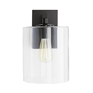 Parrish Gray One-Light Outdoor Wall Sconce