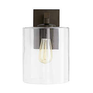 Parrish Brown One-Light Outdoor Wall Sconce