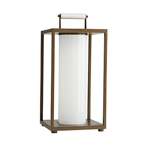 Stetson Brown One-Light Outdoor Lamp