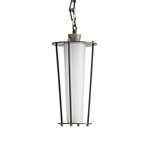Sorel Gray One-Light Outdoor Pendant