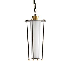 Sorel Brown One-Light Outdoor Pendant