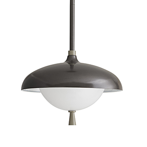 Stanwick Gray One-Light Outdoor Pendant