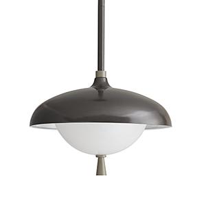 Stanwick Gray One-Light Outdoor Pendant