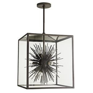 Zanadoo Gray 12-Light Outdoor Pendant