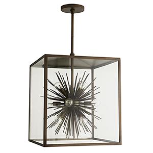 Zanadoo Brown 12-Light Outdoor Pendant