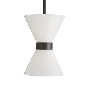 Richard Gray Two-Light Outdoor Pendant