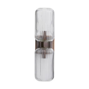 Tamber Heritage Brass Two-Light Wall Sconce