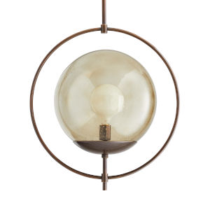 Volta Heritage Brass One-Light Pendant