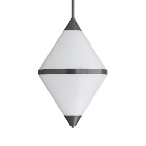 Tinker Aged Iron Two-Light Outdoor Pendant
