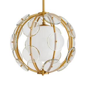 Westport Antique Brass One-Light Pendant