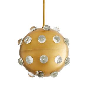 Varsha Antique Brass One-Light Pendant