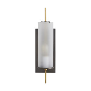 Stefan Bronze One-Light Wall Sconce