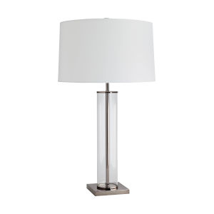 Norman Brown Nickel One-Light Table Lamp