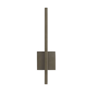 Simba Aged Brass Two-Light LED Outdoor Wall Sconce