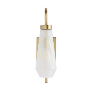Conrad Antique Brass One-Light Wall Sconce