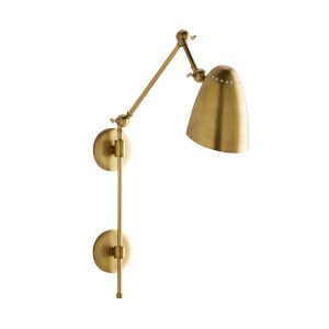 Ace Antique Brass One-Light Wall Sconce